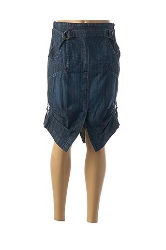 Jupe mi-longue bleu ANTOGNINI JEANS pour femme