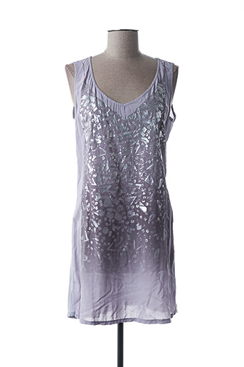 Robe courte violet DEHA pour femme