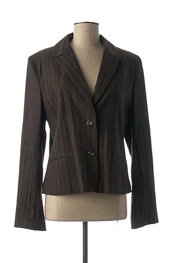 Veste chic / Blazer marron SANDWICH pour femme