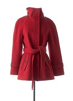 Manteau court rouge MACKAGE pour femme