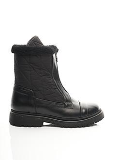 Bottines/Boots noir MONCLER pour femme