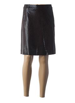 Jupe courte marron MARELLA pour femme