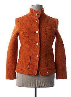 Veste chic / Blazer orange ELEONORA AMADEI pour femme