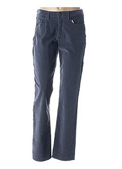 Pantalon casual gris GUY DUBOUIS pour femme