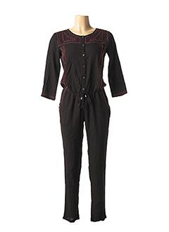 Combi-pantalon noir RICH & ROYAL pour femme