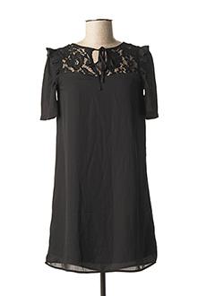 Robe courte noir FASHION UNION pour femme