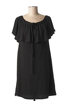 Robe mi-longue noir ANNA & ELLA pour femme