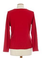 T-shirt manches longues rouge RABE pour femme seconde vue