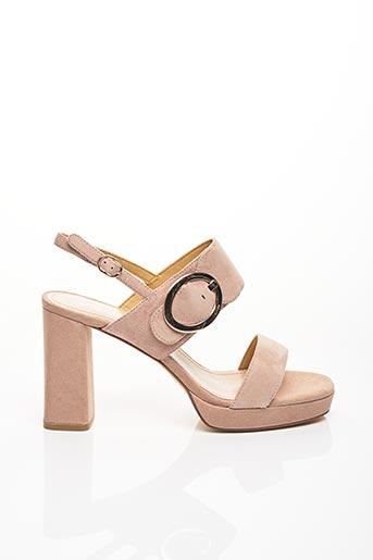 Sandales/Nu pieds rose ADELE DEZOTTI pour femme