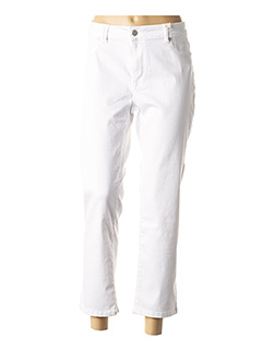 Pantalon 7/8 blanc CMK pour femme