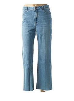 Jeans coupe large bleu LAB DIP PARIS pour femme
