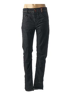 Jeans coupe slim gris HIGH pour femme