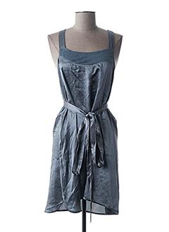 Robe mi-longue gris GUESS pour femme
