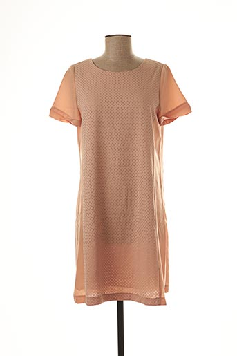 Robe courte orange BONSUI pour femme