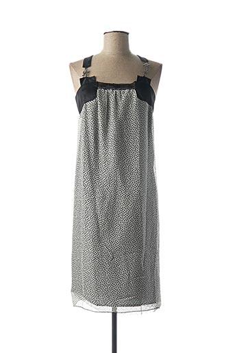 Robe mi-longue noir BILL TORNADE pour femme