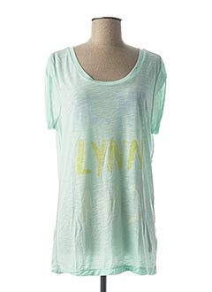 T-shirt manches courtes vert G STAR pour femme