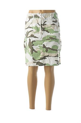 Jupe mi-longue vert BENCH pour femme