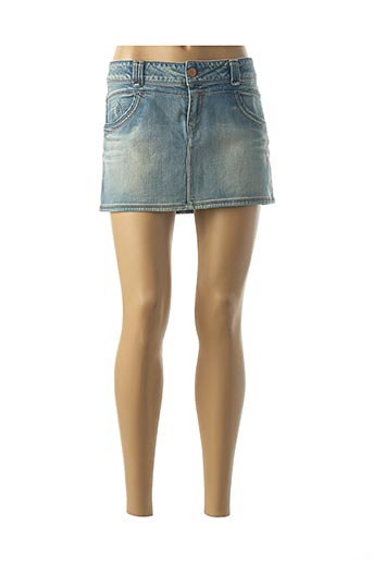 Mini-jupe bleu FIVE PM pour femme