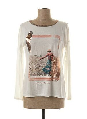 T-shirt manches longues beige DEJA pour femme