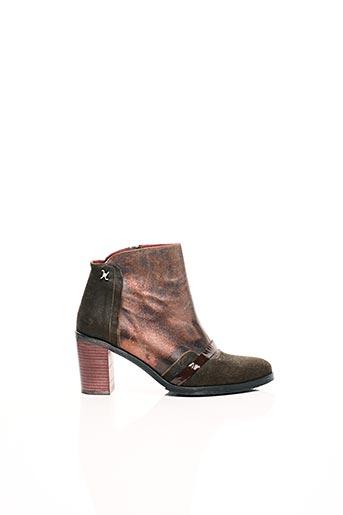 Bottines/Boots marron HORS LIMITE pour femme