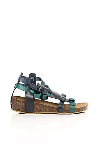 Sandales/Nu pieds bleu KICKERS pour fille