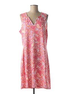 Robe mi-longue rose HATLEY pour femme