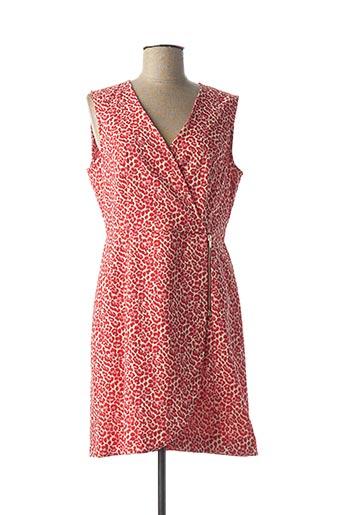 Robe mi-longue rouge KOCCA pour femme