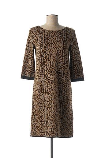 Maria Bellentani Robes Pulls Femme De Couleur Marron En Soldes Pas Cher 1472368 Marron Modz
