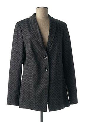 Veste chic / Blazer noir COMMA, pour femme