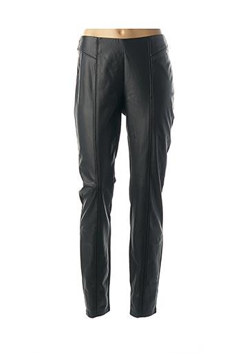 Pantalon casual noir COMMA, pour femme