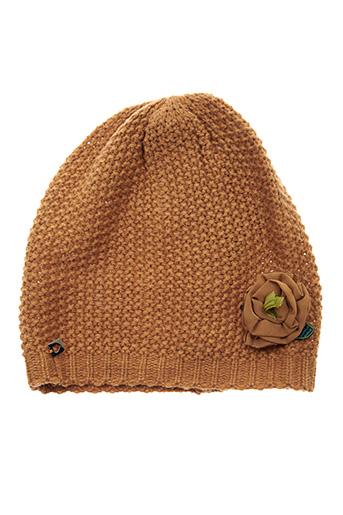 Bonnet marron TWINSET pour femme