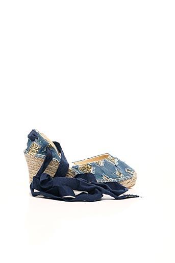 Espadrilles bleu COSTA pour femme