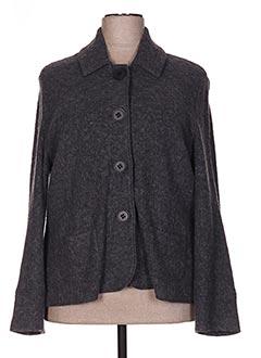 Veste casual gris GUY DUBOUIS pour femme