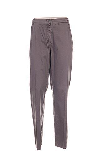 Pantalon casual marron IMPULSION pour femme