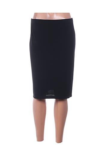 Jupe mi-longue noir MERI & ESCA pour femme