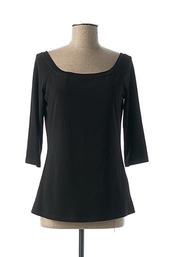 T-shirt manches longues noir JOSEPH RIBKOFF pour femme
