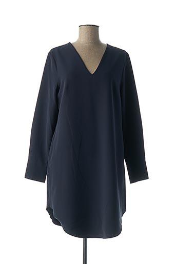 Tunique manches longues bleu ETXART&PANNO pour femme