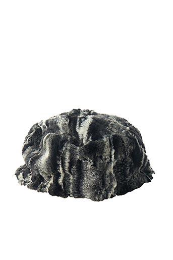Bonnet gris MALOKA pour femme