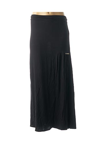 Jupe longue noir CATY LESCA pour femme