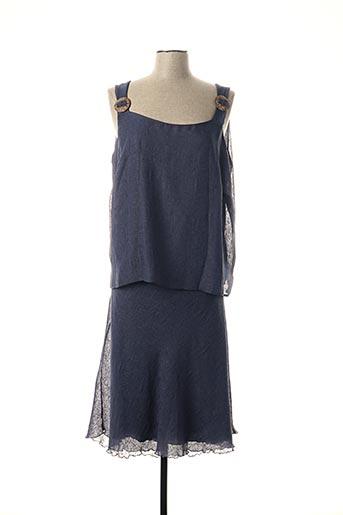 Top/jupe bleu FRANCE RIVOIRE pour femme