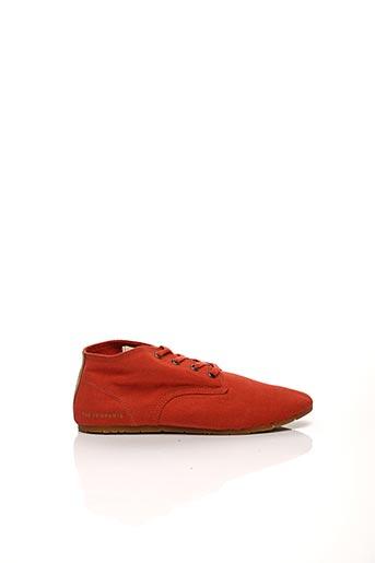 Baskets rouge ELEVEN PARIS pour femme