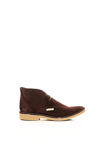 Bottines/Boots marron BENSIMON pour femme