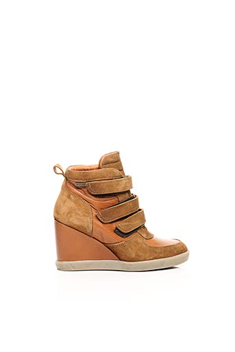Bottines/Boots marron BEE.FLY pour femme