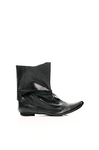 Bottines/Boots noir IPPON STYL pour femme
