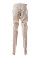 Pantalon casual beige BRUNO SAINT HILAIRE pour homme seconde vue