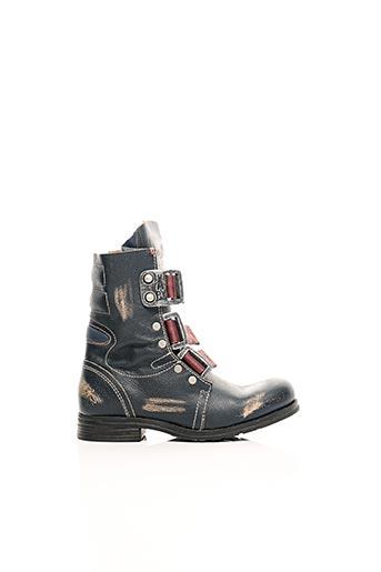 Bottines/Boots bleu FLY LONDON pour femme