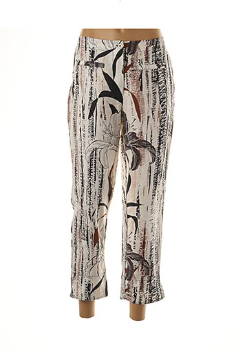Pantalon 7/8 beige MALOKA pour femme
