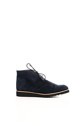 Bottines/Boots bleu JOHANN pour femme