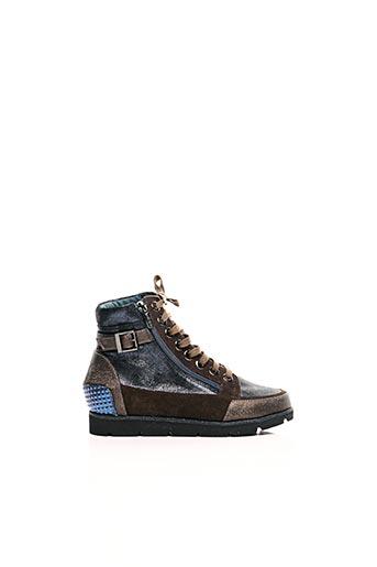 Bottines/Boots bleu KARSTON pour femme
