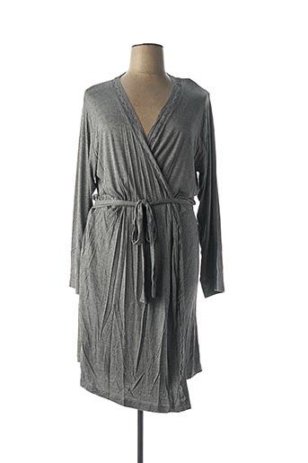 Robe de chambre gris PROMISE pour femme